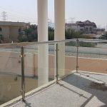 Glass staircase Dubai